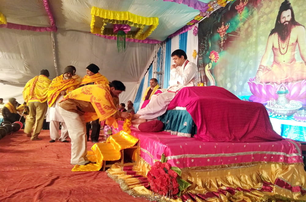 Siddhashram Rajyog Diksha and Sadhana Camp, Jodhpur (Rj.)