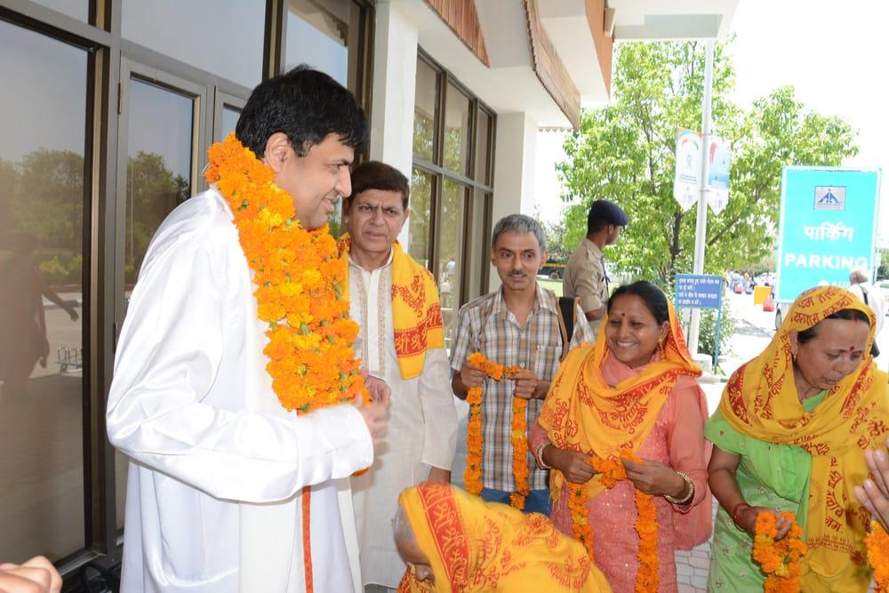 SadGurudev Nikhileshwaranand Siddhi Sadhana Camp, Palampur (H.P)